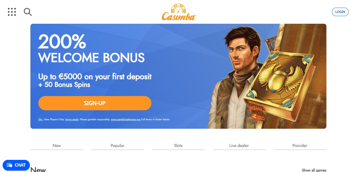 Casimba Homepage