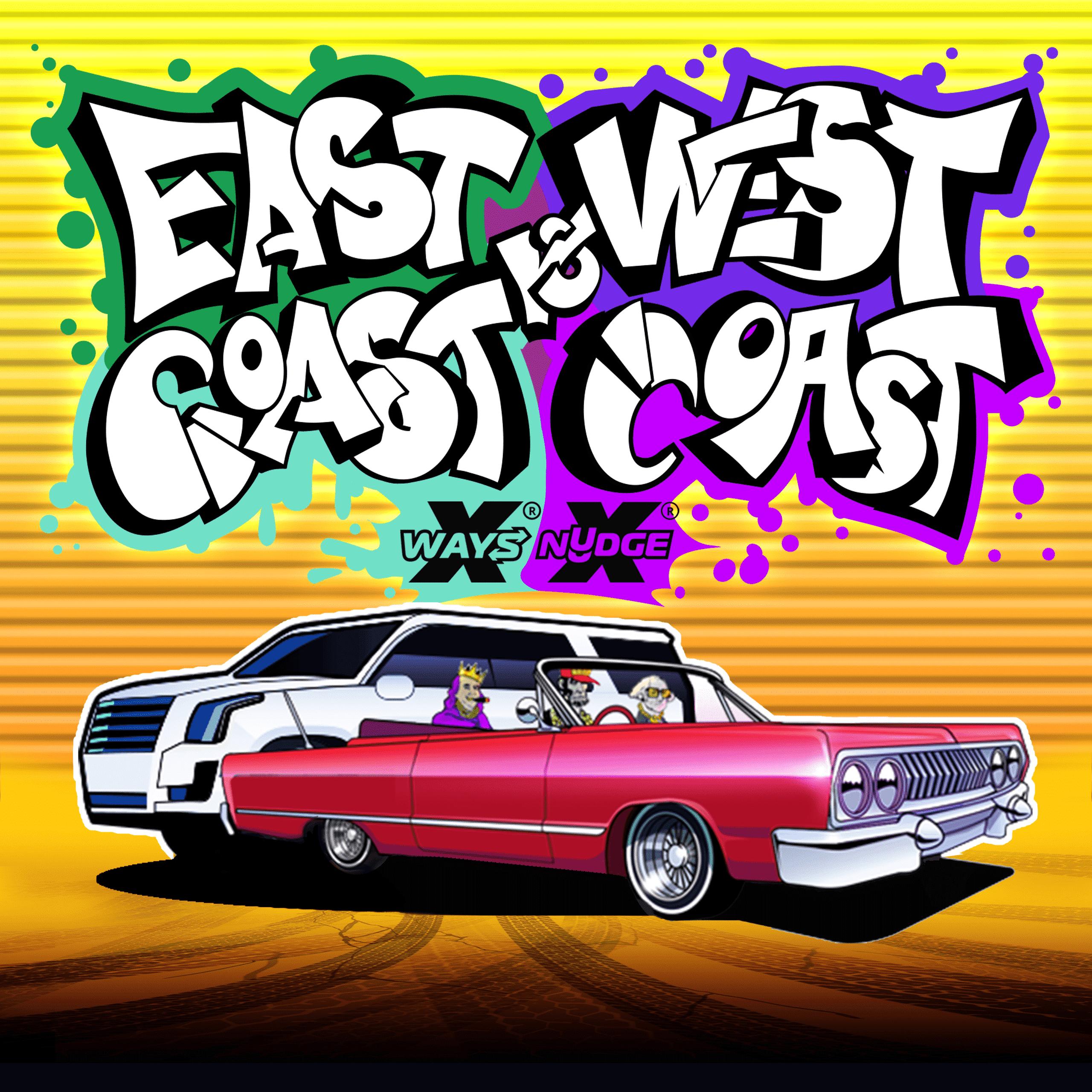 East Cost vs West Coast Logo
