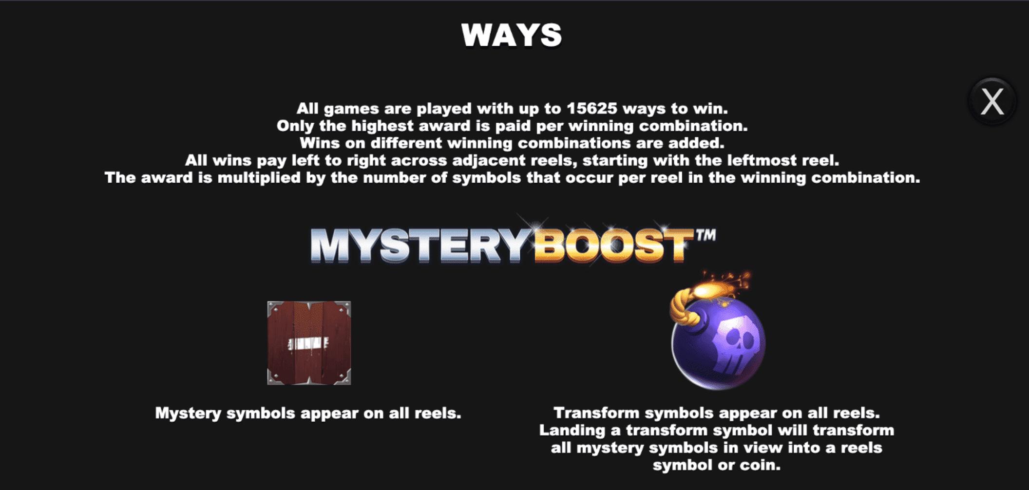 Mystery Boost Bonus Island