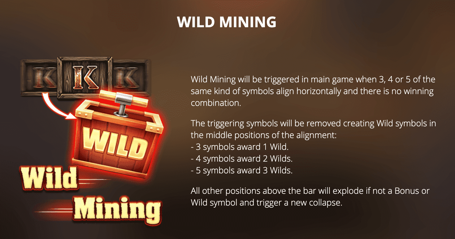 Fire In The Hole Wild Mining