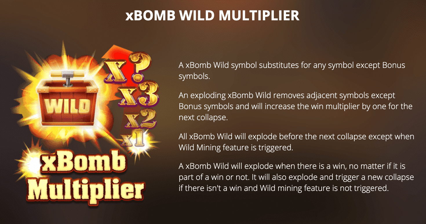 Fire In The Hole xBomb Wild Multiplier