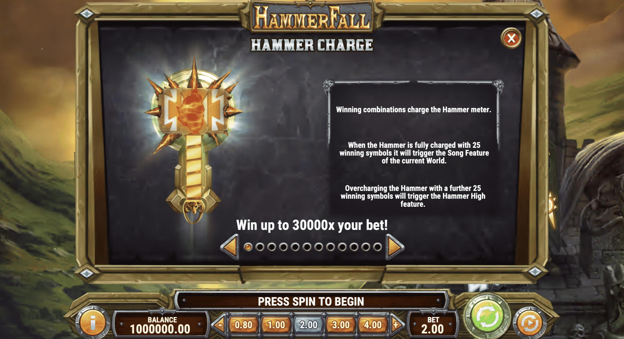 HammerFall Hammer Charge