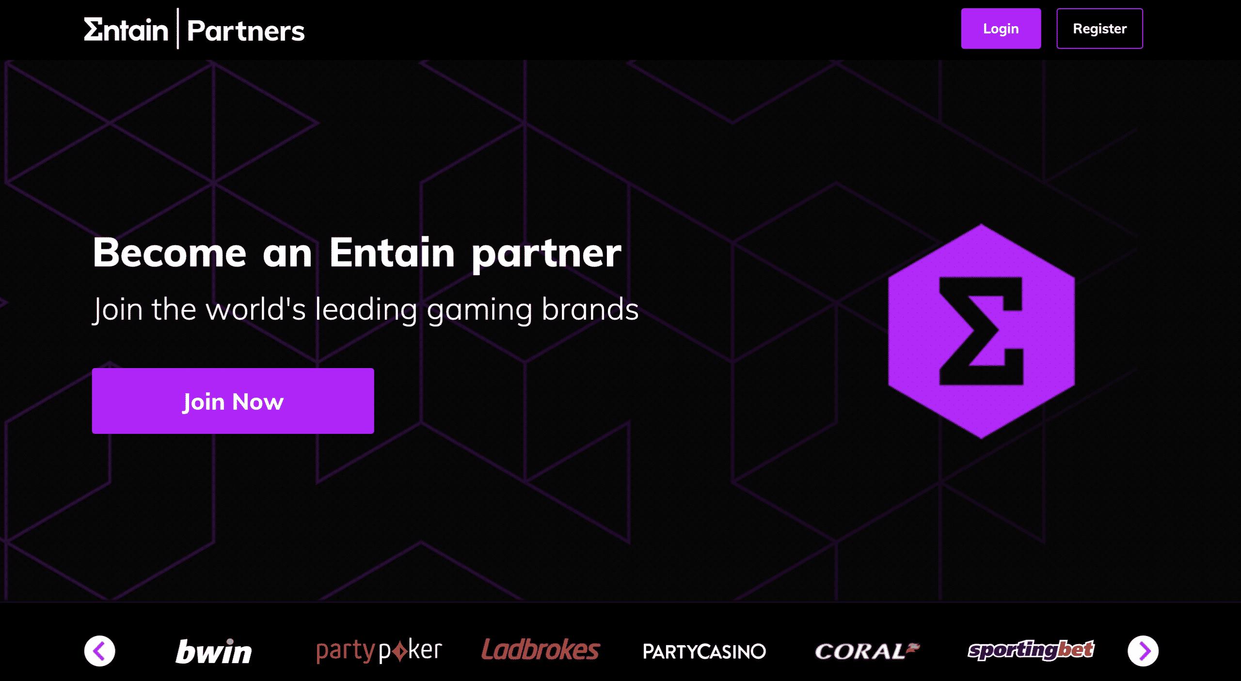 Entain Partners Affiliation