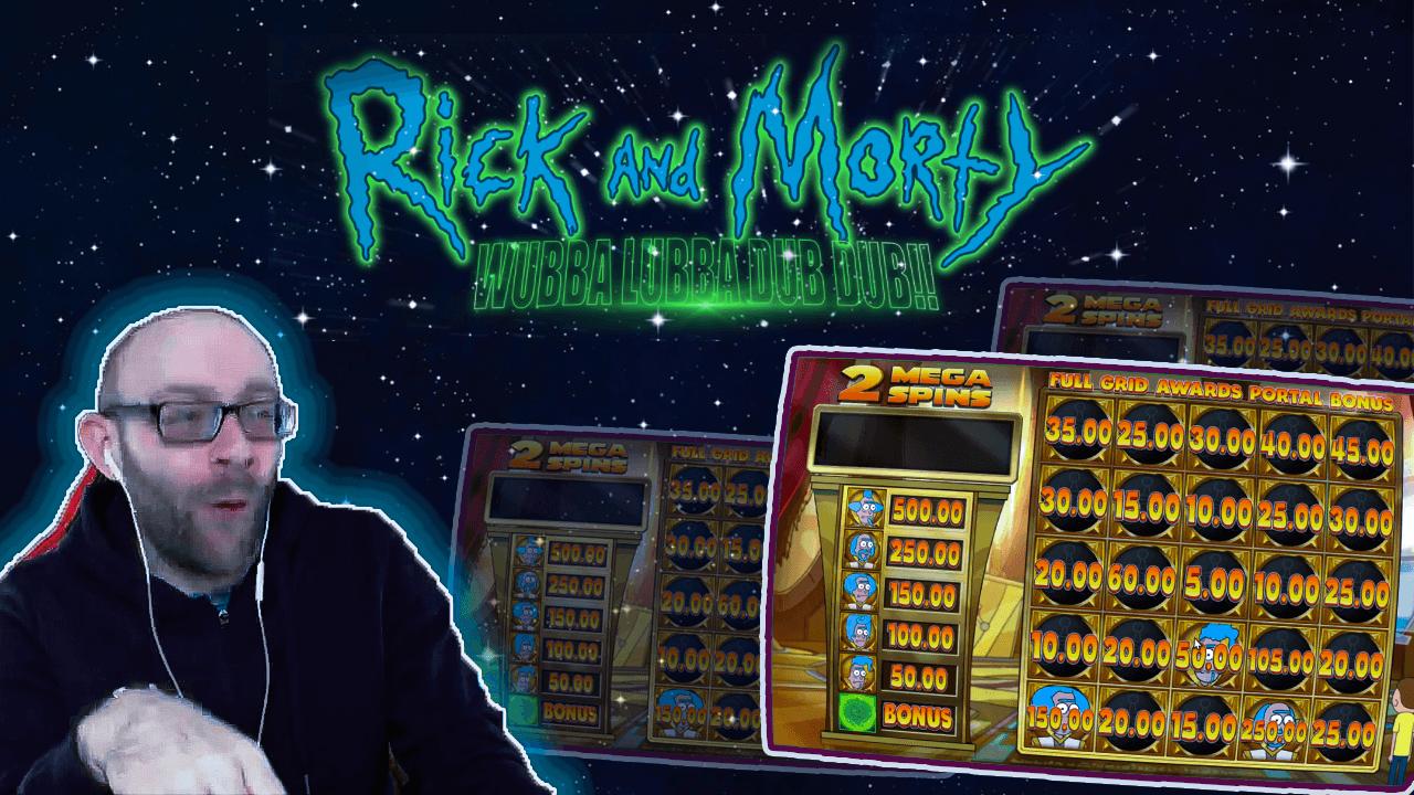 Rick and Morty Slot: Wubba Dubba Dub Dub