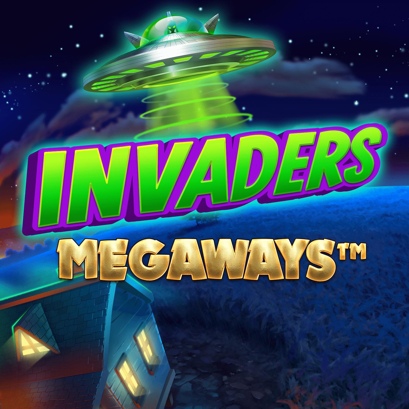 Invaders Megaways Logo