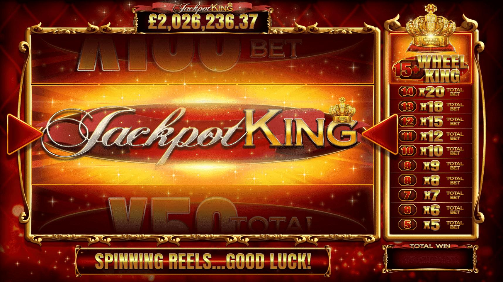 Blueprint Gaming's Jackpot King