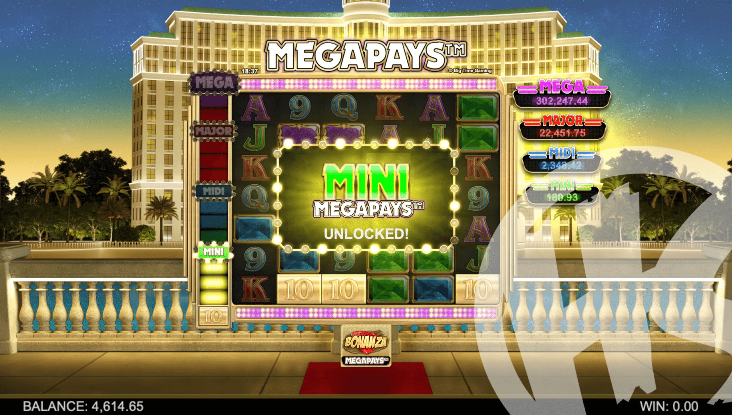 Bonanza Megapays Megapays Feature
