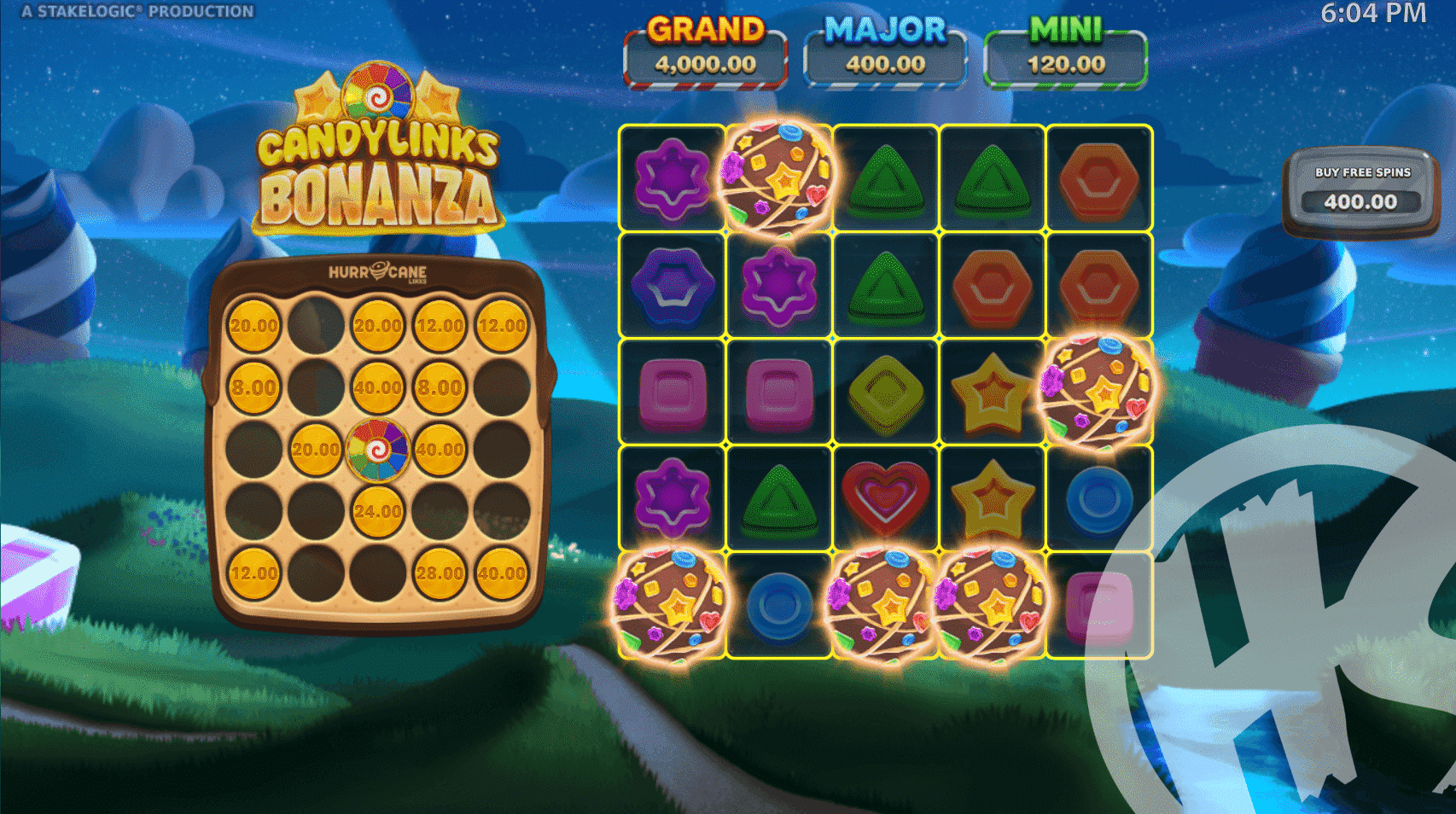 3 or More Scatters Triggers Free Spins