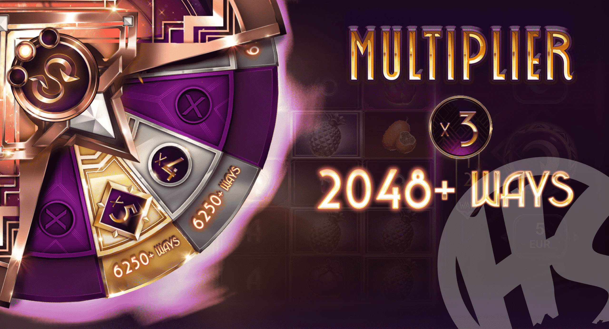 Players Can Gamble Up To 6,250 Ways & x5 Multiplier