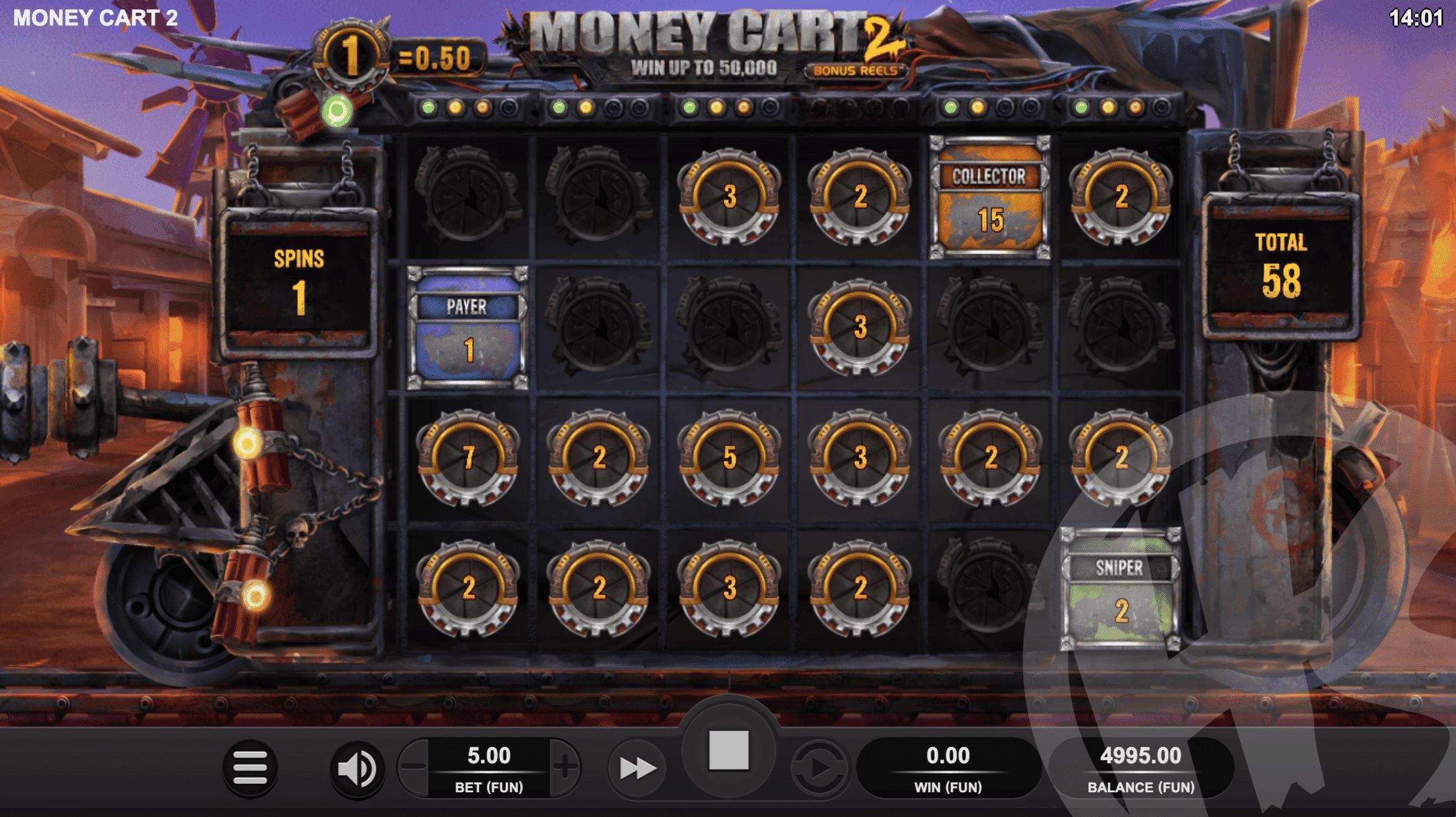 Money Cart 2 Bonus