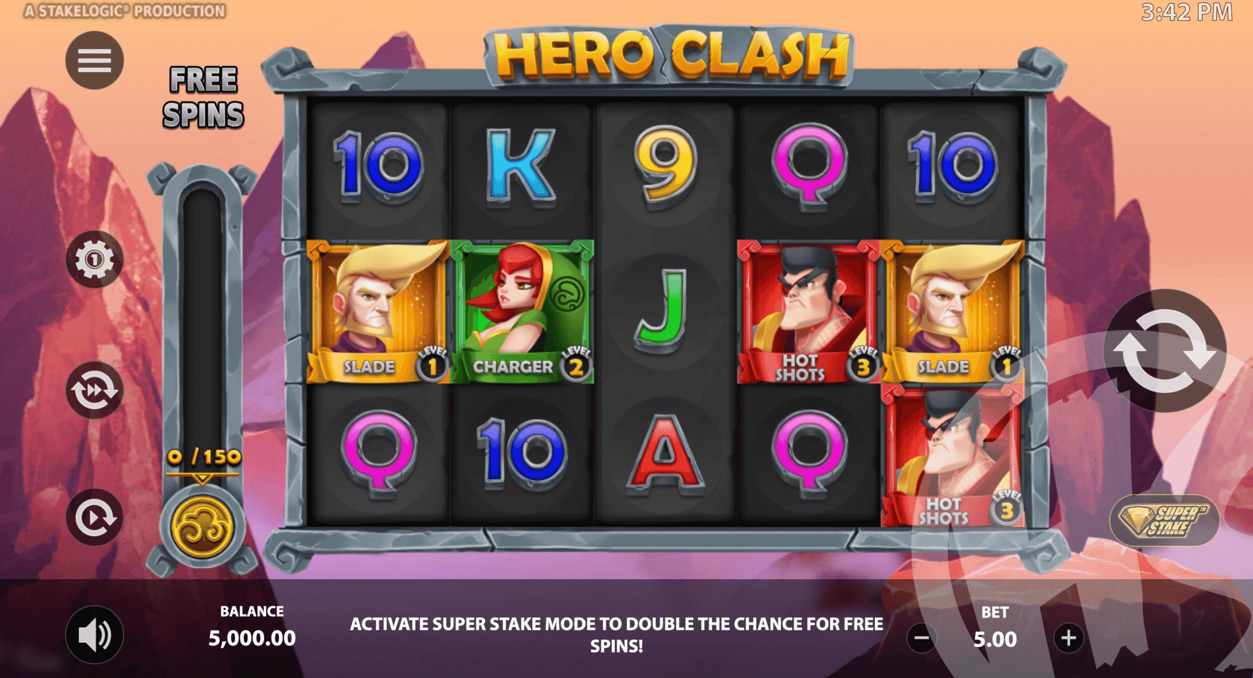 Hero Clash Base Game