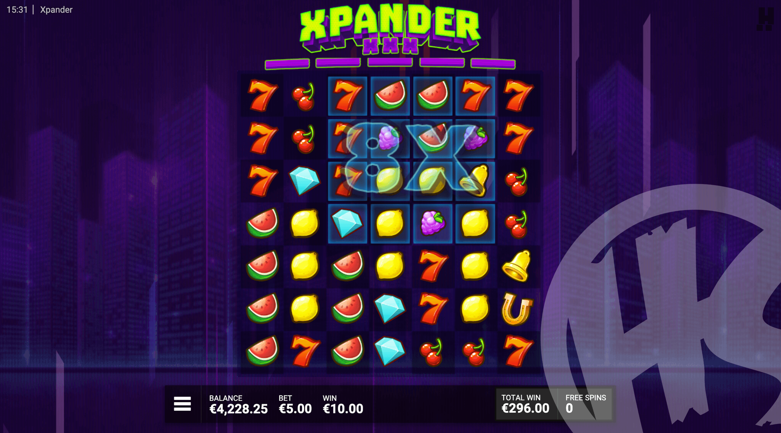 Xpander Free Spins