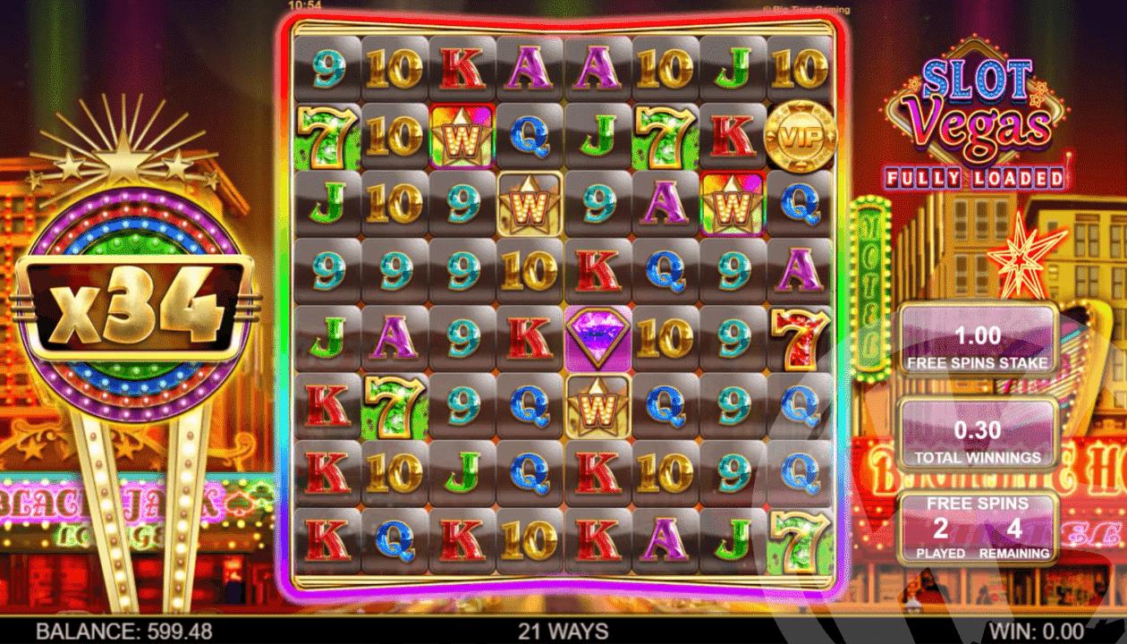 Rainbow Wild Bonus During Free Spins