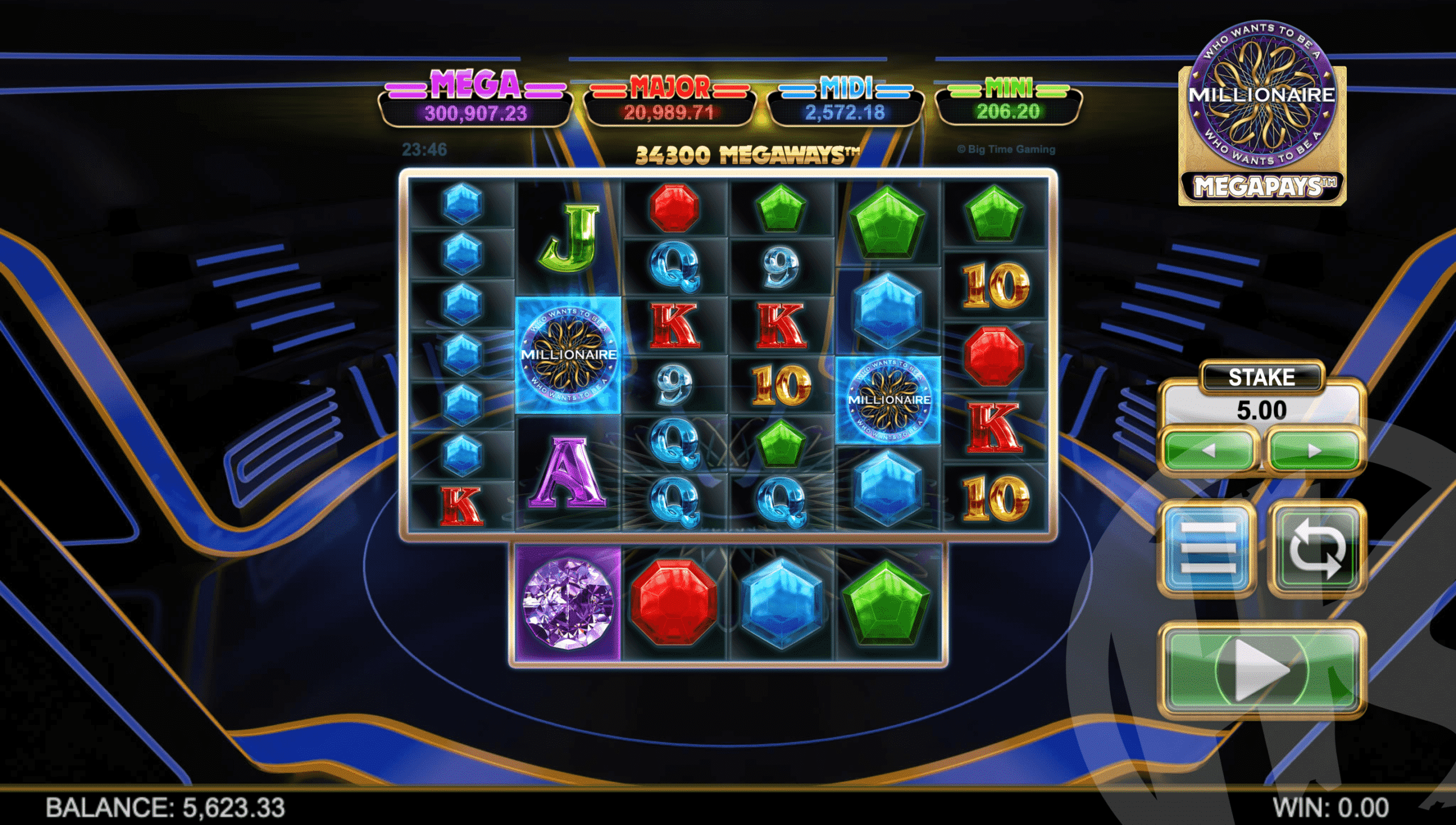 Millionaire Megapays Base Game