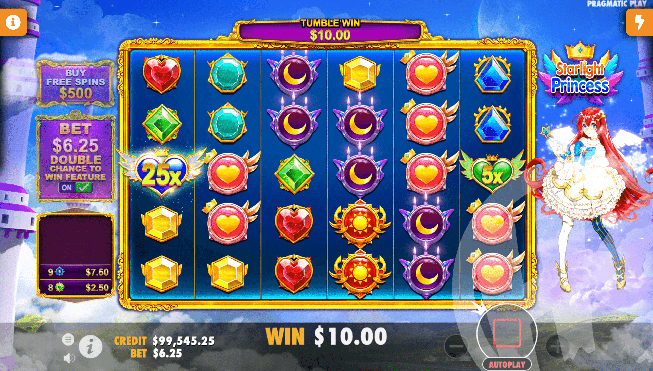 Multipliers Can Appear in The Base Game or Free Spins