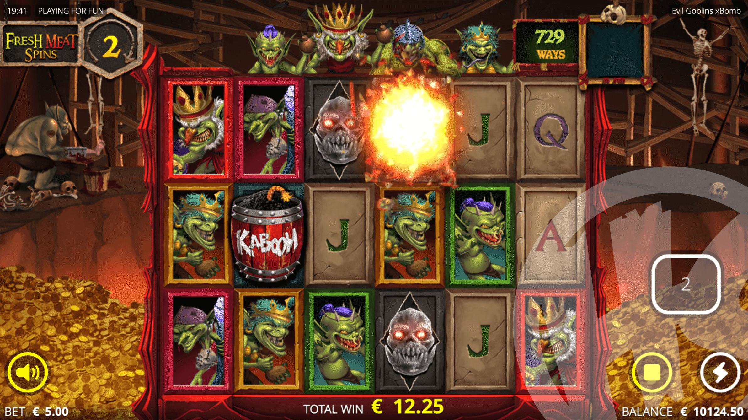 Evil Goblins xBomb Fresh Meat Spins