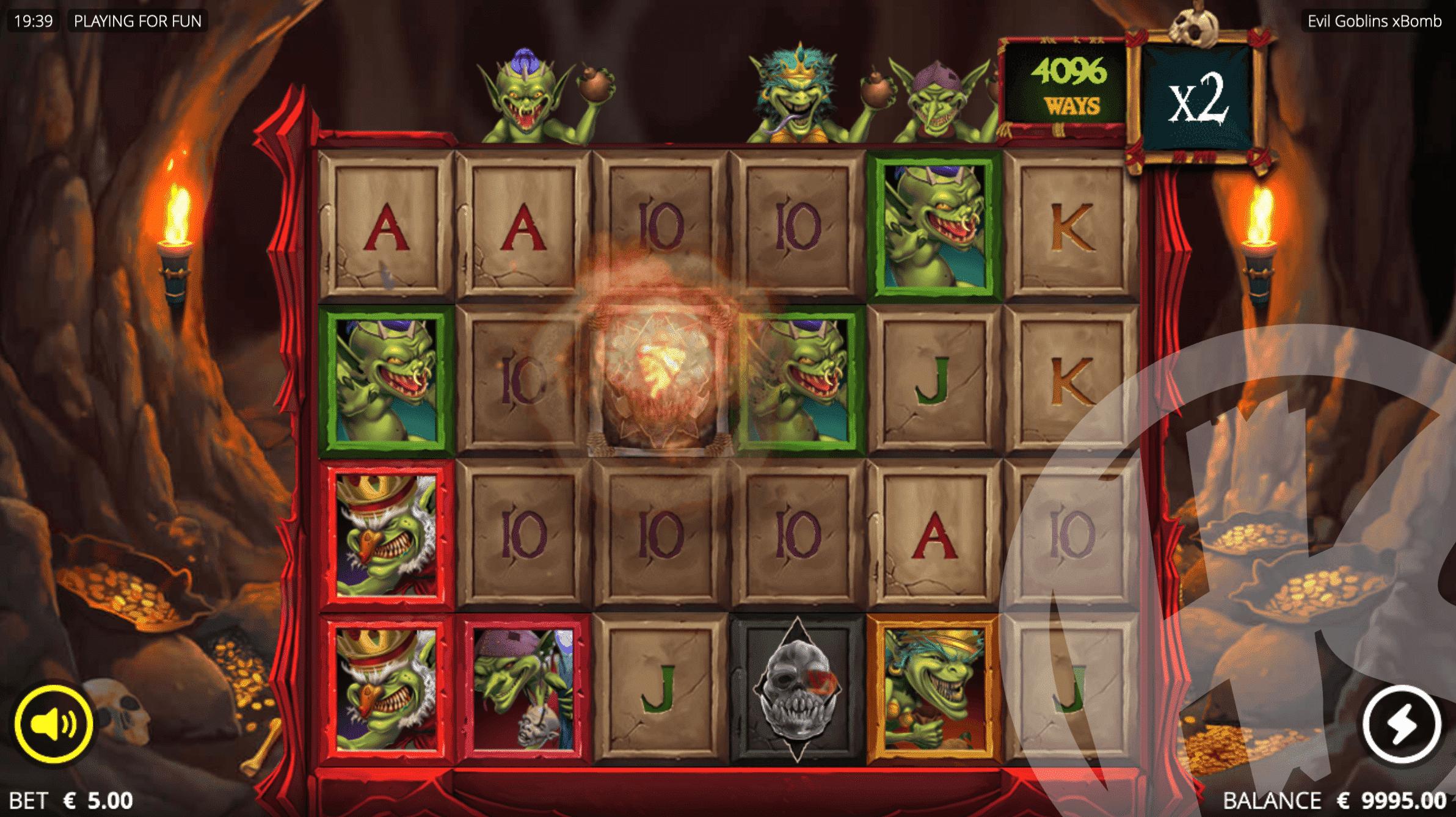 Goblin Sacrifice Helps Wilds to Land