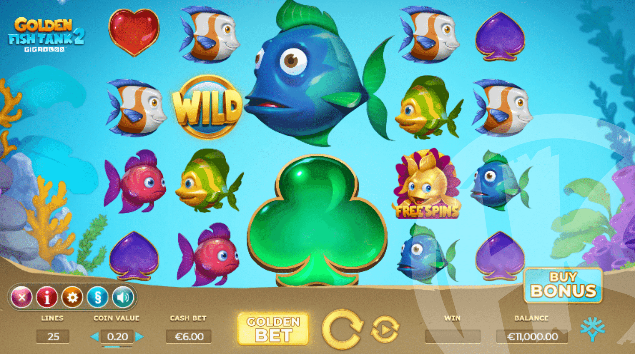 Golden Fish Tank 2 Gigablox Base Game