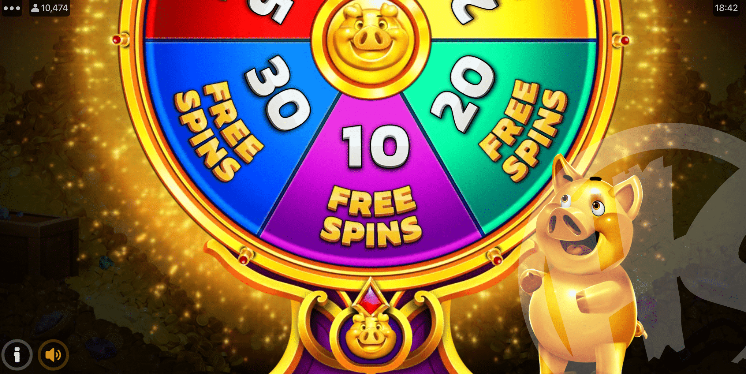 Spin the Free Spins Wheel to Trigger up to 30 Free Spins