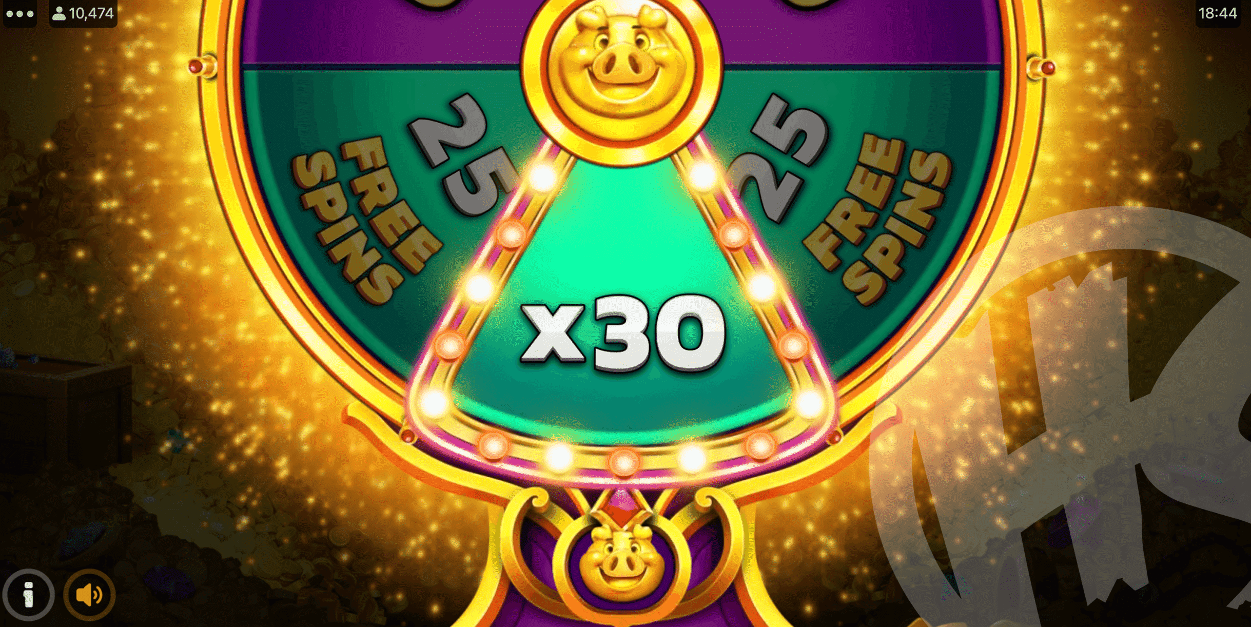 Gamble Up to 30 Free Spins, Revealing a Random 'x bet' Value if the Gamble Loses